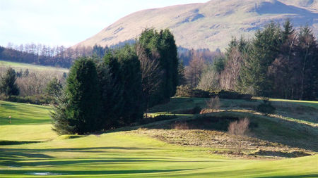 Overview of golf course named Muckhart Golf Club