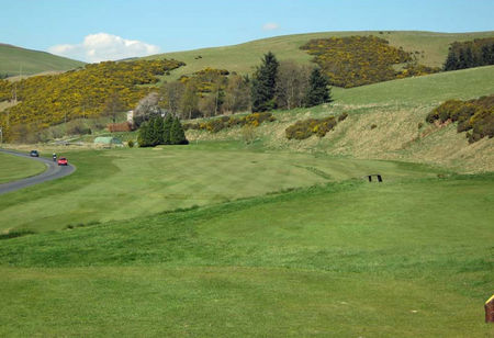 Innerleithen golf club cover picture