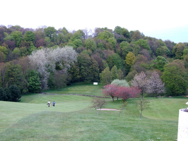 Overview of golf course named Kirkcaldy Golf Club