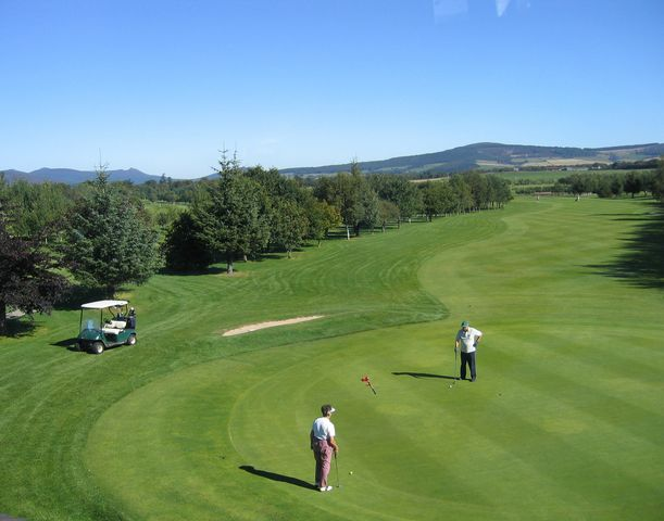 Alford golf club cover picture
