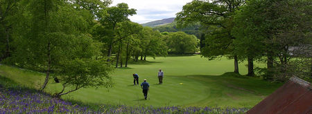 Strathtay golf club cover picture