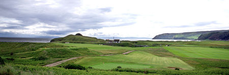 Overview of golf course named Dunaverty Golf Club