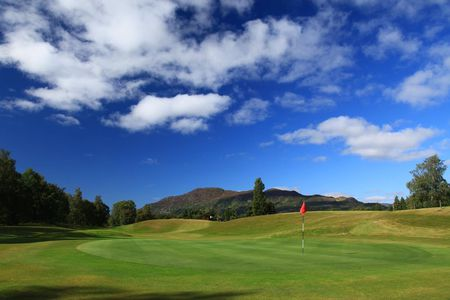 Overview of golf course named Newtonmore Golf Club