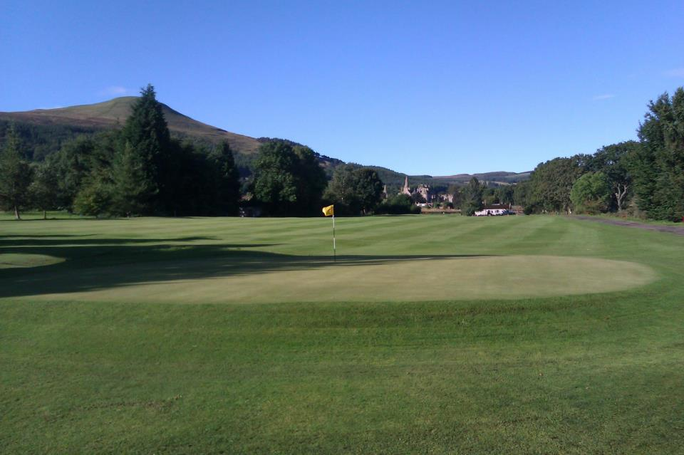 Overview of golf course named Falkland Golf Club