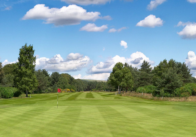 Overview of golf course named Ladybank Golf Club