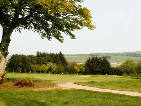 Overview of golf course named Inverurie Golf Club