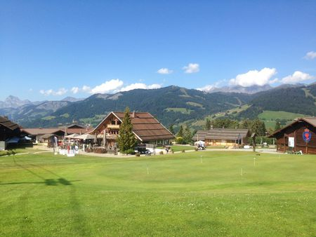 Overview of golf course named Golf Du Mont d'Arbois