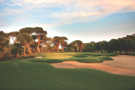 Overview of golf course named Montgomerie Maxx Royal Golf Club