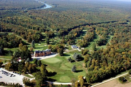 Overview of golf course named Golf Du Chateau de Hombourg