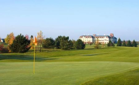 Overview of golf course named Disneyland Paris Golf Club