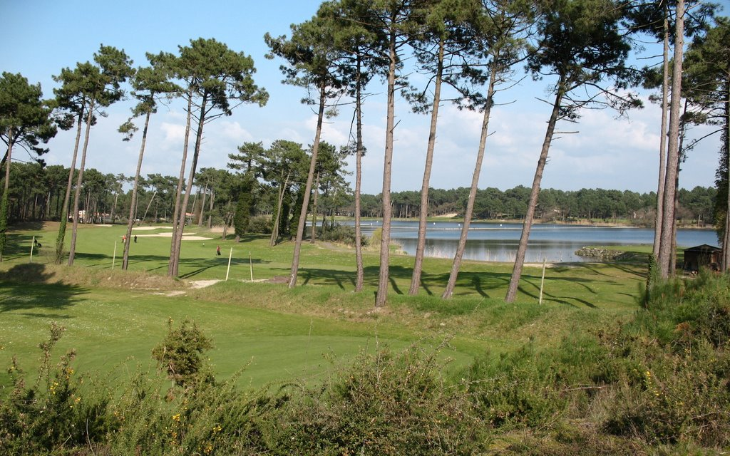 Overview of golf course named Golf de Pinsolle