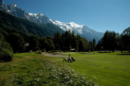 Overview of golf course named Golf Club de Chamonix