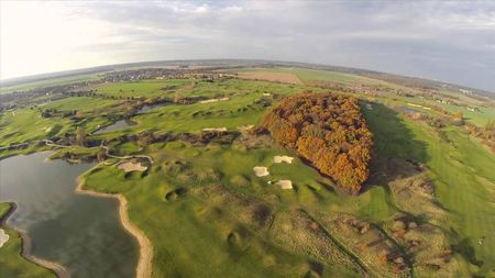 Overview of golf course named Stade Francais Courson Golf Club
