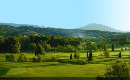 Overview of golf course named Golf de La Grande Bastide