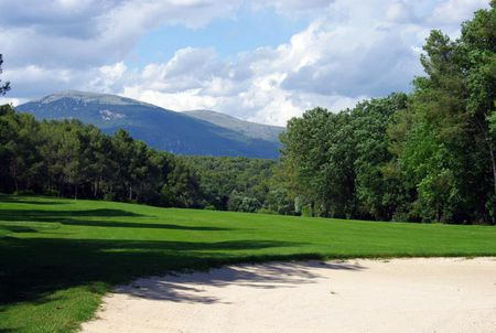 Overview of golf course named Golf Opio Valbonne