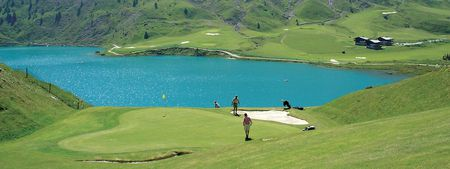 Golf Du Lac de Tignes Cover Picture