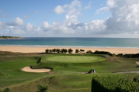 Overview of golf course named Golf de Saint Cast Pen Guen