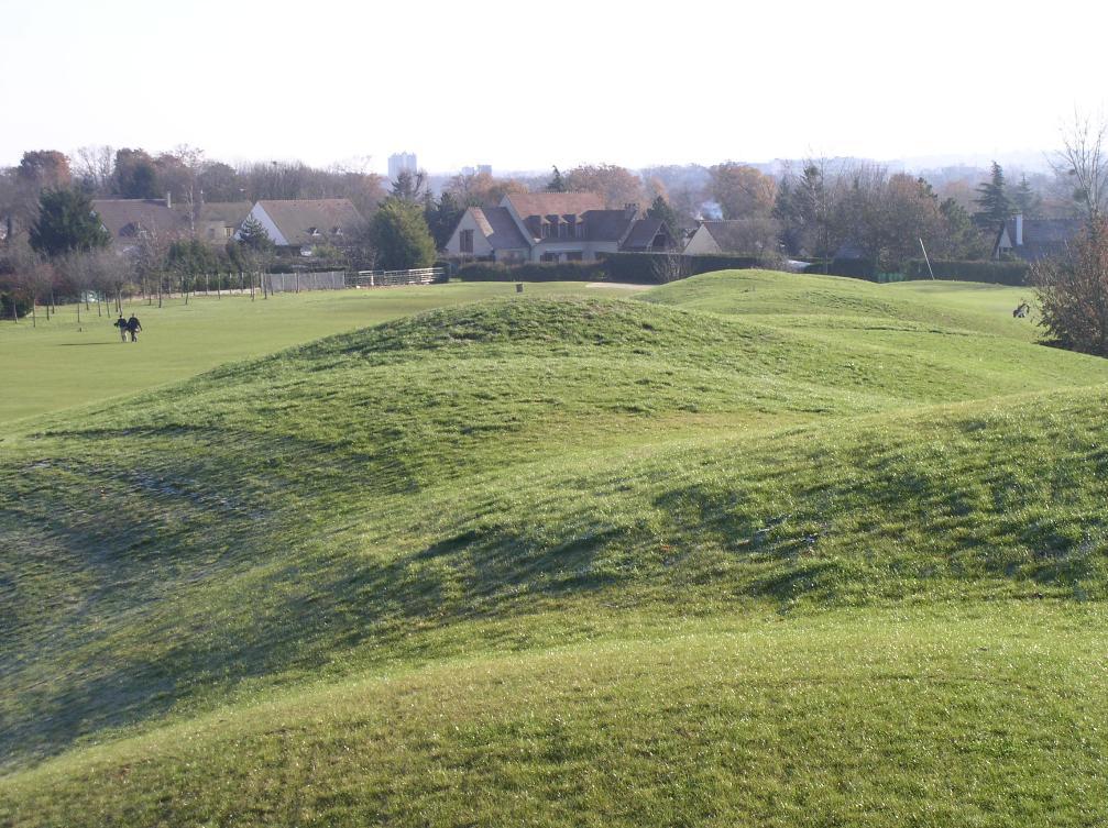Overview of golf course named Golf de Villennes Sur Seine