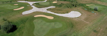 Overview of golf course named Golf de La Gloriette