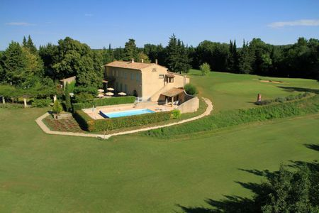 Overview of golf course named Golf Club d' Uzes