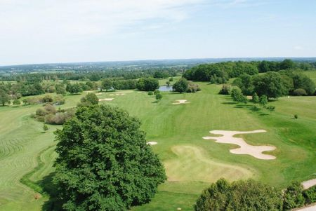 Overview of golf course named Golf Des Dryades