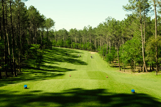 Overview of golf course named Mimizan Golf Club