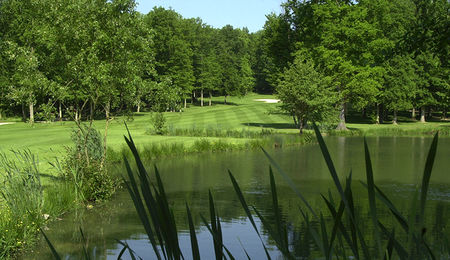 Overview of golf course named Golf de Marivaux