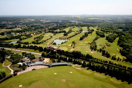 Overview of golf course named Golf Hotel Mont Griffon