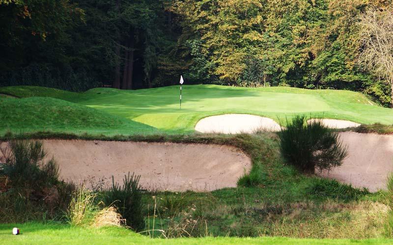 Overview of golf course named Golf de Saint Germain