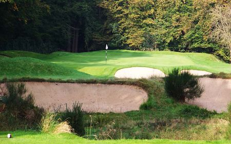 Overview of golf course named Golf de Saint Germain