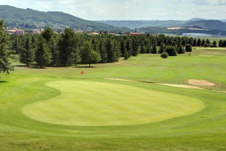 Overview of golf course named Golf d'Albon