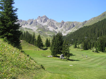 Courchevel Golf Club Cover Picture