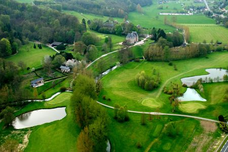 Overview of golf course named Golf de Saint-Saens