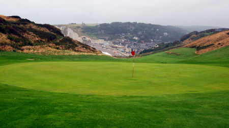 Overview of golf course named Golf d'Etretat