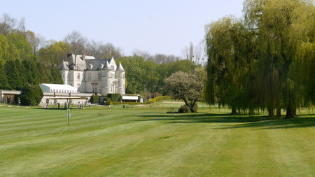Overview of golf course named Golf de Villarceaux
