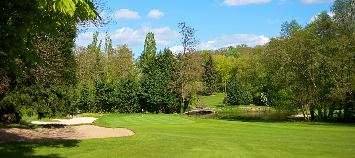 Overview of golf course named Fourqueux Golf Club
