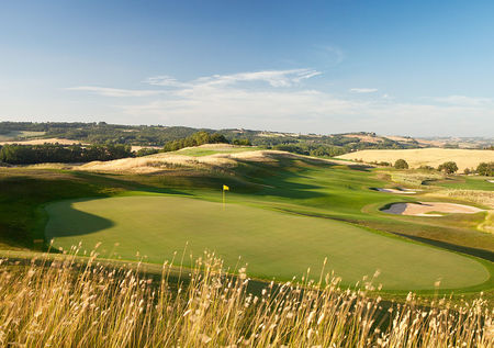 Overview of golf course named Castiglion Del Bosco