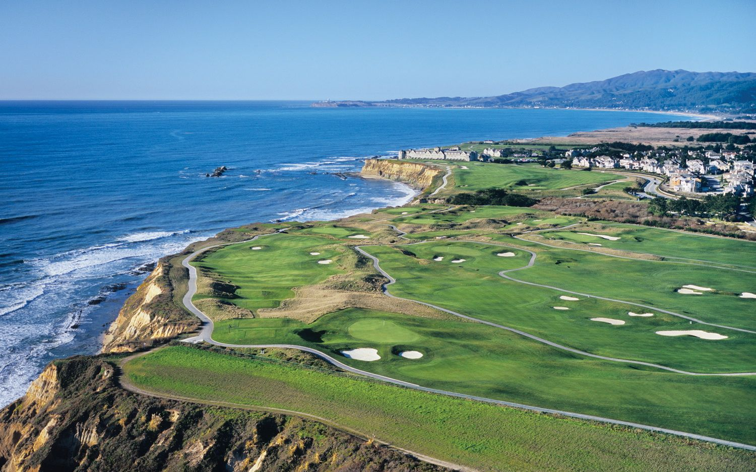 Overview of golf course named Half Moon Bay Golf Links