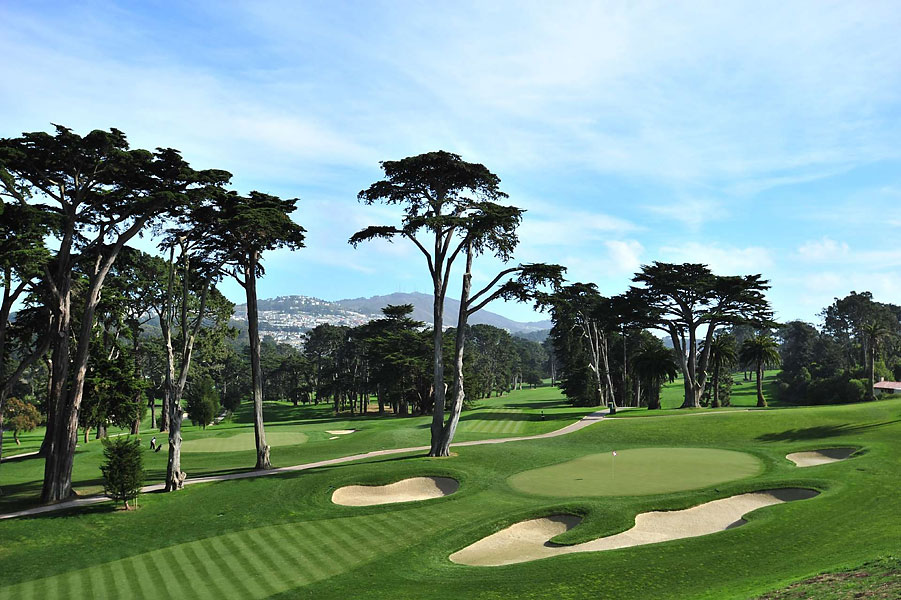 Overview of golf course named Olympic Club - The Lake