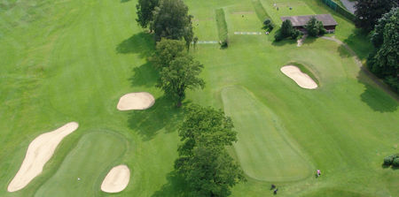 Overview of golf course named Golf and Country Club Zurich-Zumikon