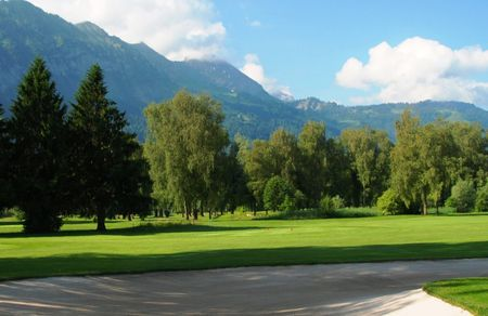 Overview of golf course named Golf Club Interlaken-Unterseen
