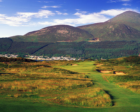 Overview of golf course named Royal County Down - Championship Links