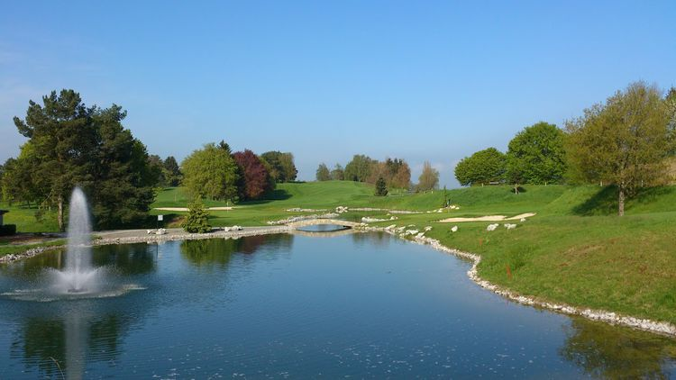 Golf and country club blumisberg cover picture
