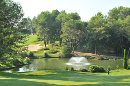 Overview of golf course named Royal Mougins Golf Club