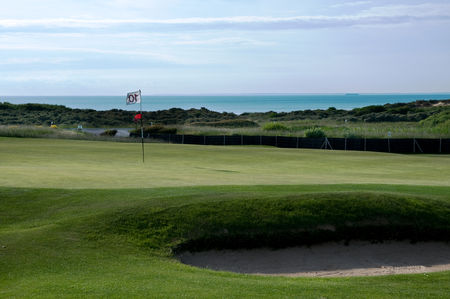 Overview of golf course named Golf de Wimereux