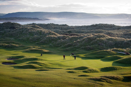 Aberdovey golf club cover picture