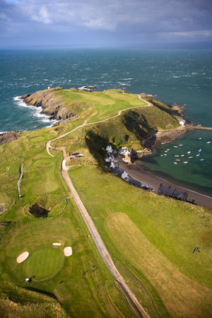 Nefyn and district golf club cover picture