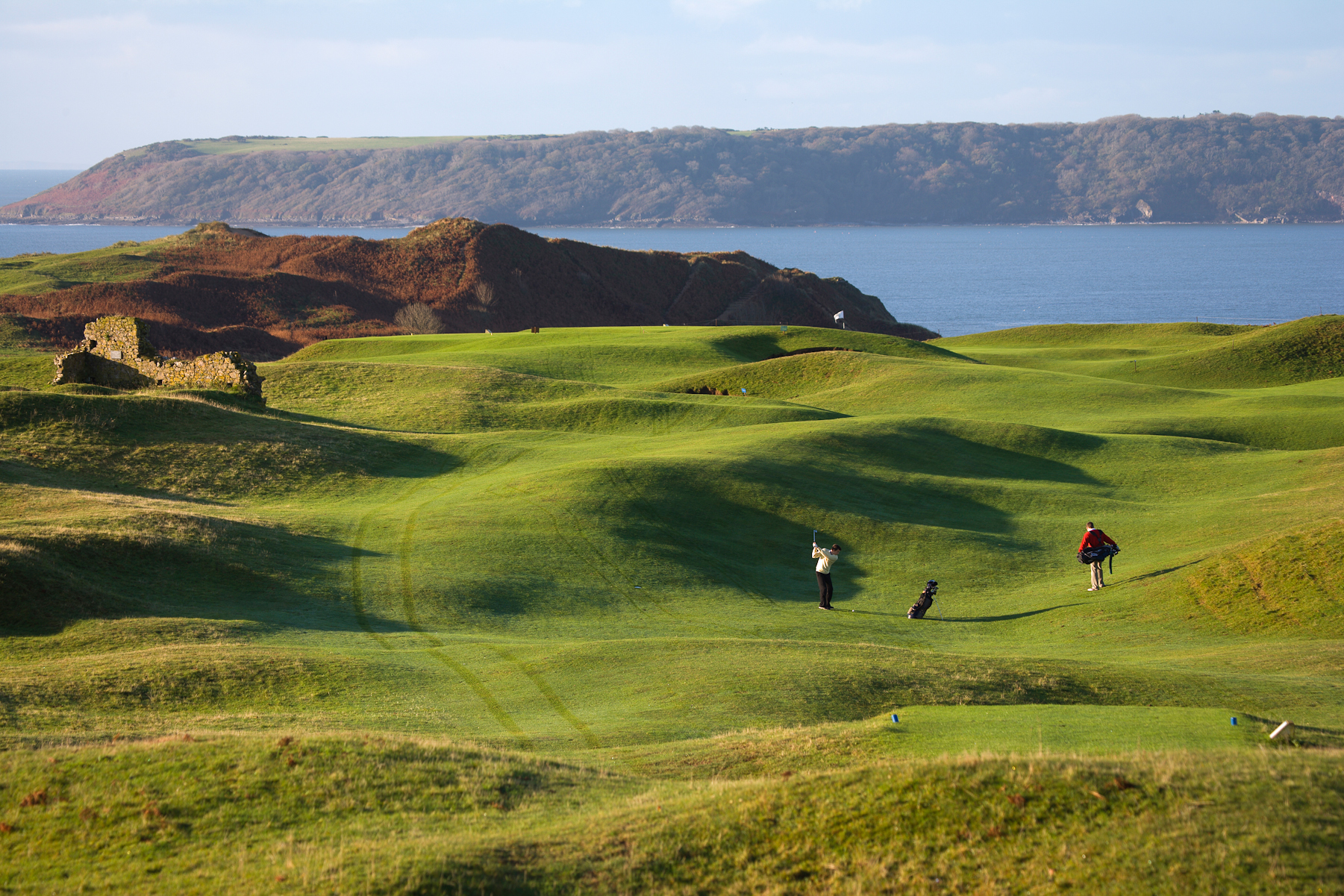 Overview of golf course named Pennard Golf Club