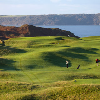 Pennard golf club cover picture