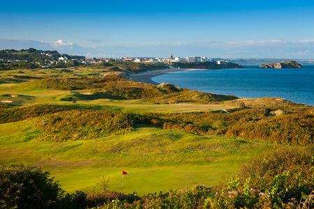 Overview of golf course named Tenby Golf Club